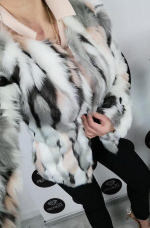 Płaszczyk Faux Fur Multikolor