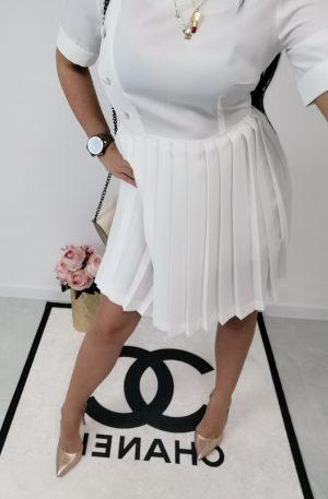 Sukienka Perle Donna White – WYPRZEDAŻ