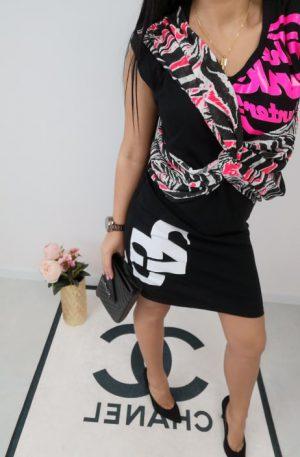 Sukienka Designe Twenty Three Black – WYPRZEDAŻ