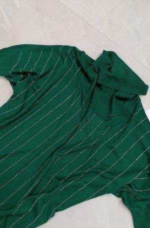 SWETEREK Destello Zielony + kryształki