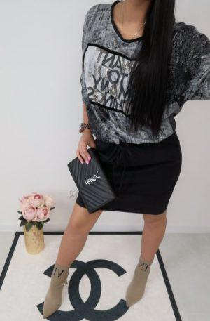 Sukienka SteLL LUX + GAZETA GREY