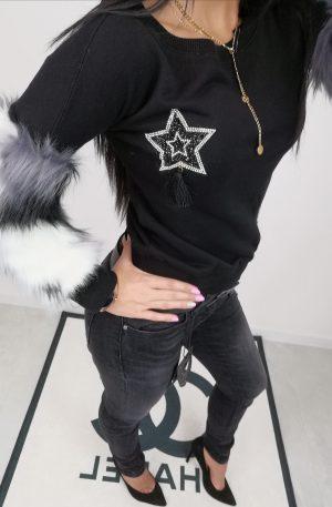 Bluza Star Black + FUTERKO- WYPRZEDAŻ