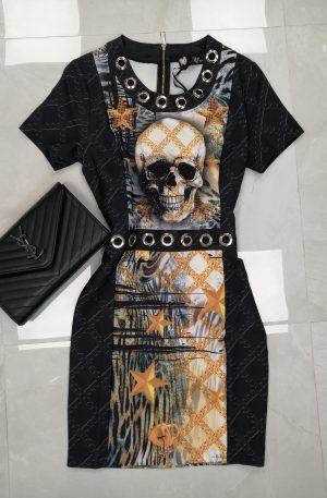 Sukienka ELEGANT SKULL – WYPRZEDAŻ