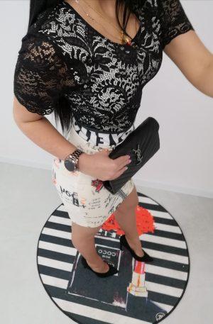Sukienka NICE Love + koronka – WYPRZEDAŻ
