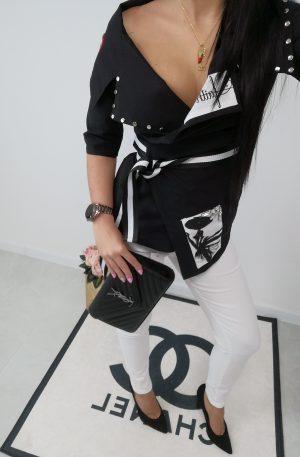 Koszula Design Provo Faith Black – WYPRZEDAŻ