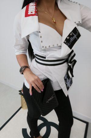 Koszula Design Provo Faith White – WYPRZEDAŻ