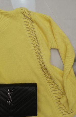 SWETEREK SOGO Yellow + łańcuszki
