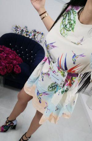 Sukienka RAW denim Colibrii