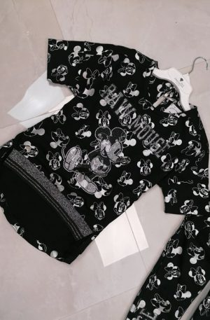 Dres RAW Mickey MOUSE + silver