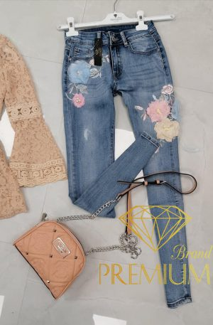 Spodnie SHE CATALEYA BLUE