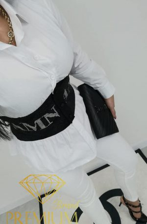 Spodnie California SHE WHITE SLIM FIT