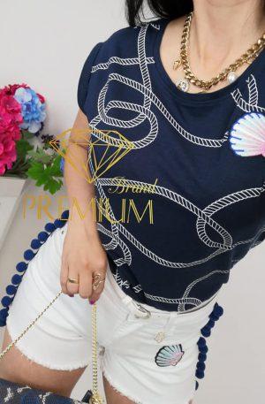 Spodenki MARINE białe Brand Premium