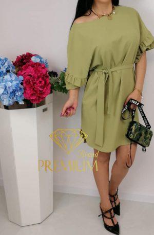 Sukienka BLAN oliwkowa
