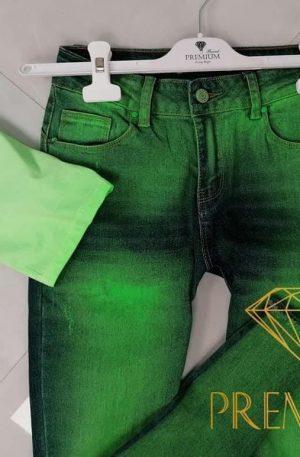 HOT! Spodnie BAST GREEN JEANS