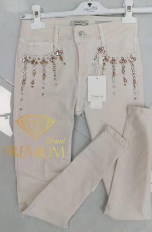 Spodnie skinny GLAMOUR MILEY
