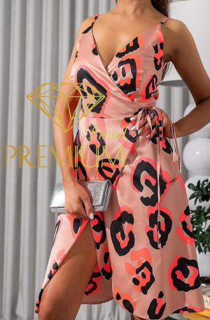 Sukienka Kopertowa Neon Flirt