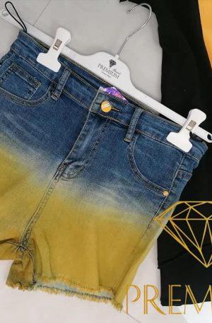 Spodenki BASTITI Jeans ombre miodowe