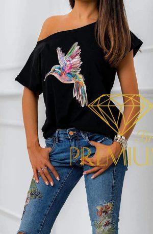 Bluzeczka Coliber czarna