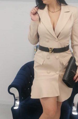 Sukienka EDINA BEIGE