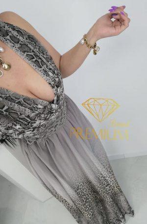 Sukienka WILD STEFANO MAXI rozm.46