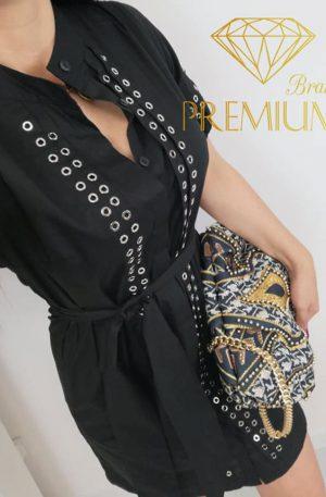 Sukienka ZIPPO NAPPO black