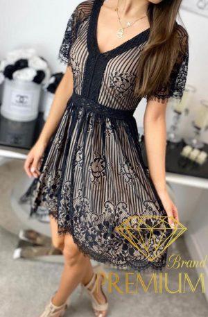 Sukienka LACE FLIRT black