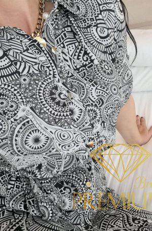 Sukienka AZTEK BLANCH