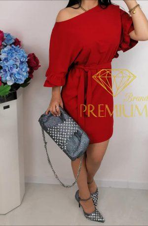 Sukienka BLAN warm red