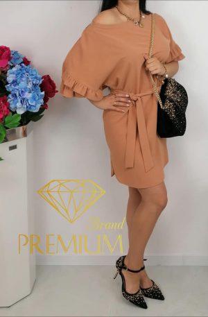 Sukienka BLAN camel beige