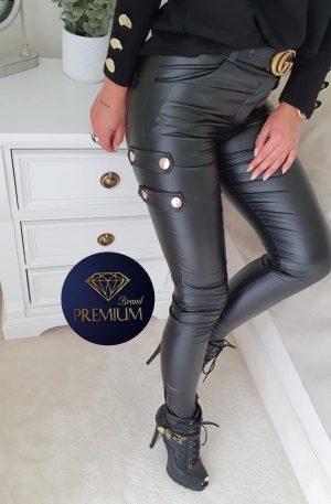 Spodnie skinny CILTY SLIM black