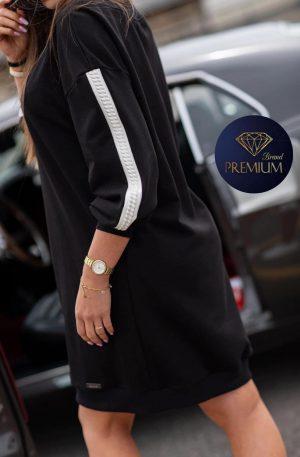 Sukienka dresowa DERI black