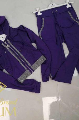 Dres TATU CRYSTAL violet + kryształki